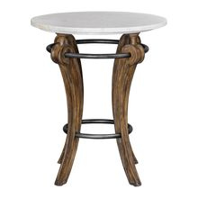 Uttermost 25424 - Uttermost Maryan Marble Accent Table