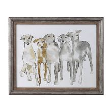 Uttermost 51111 - Uttermost Hounding Around Framed Print