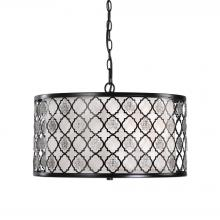 Uttermost 22062 - Uttermost Filigree 3 Light Drum Pendant